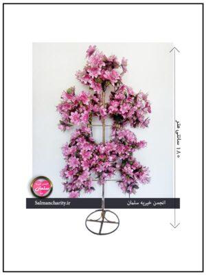 گلدان تک پایه 8 شاخه