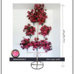 گلدان تک پایه 8 شاخه (بلند)